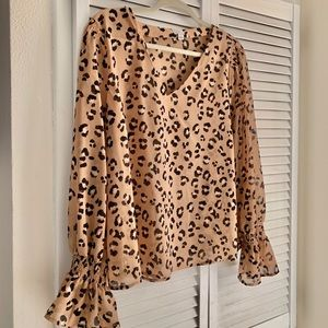 Leopard Blouse - Target - A New Day